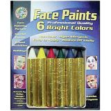 Crafty Dab Jumbo Crayon Face - Bright Paints