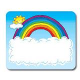 Sun & Rainbow Name Tags
