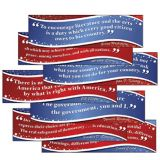American Presidents' Quotes Mini Bulletin Board Set