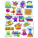 Space Sparkle Stickers