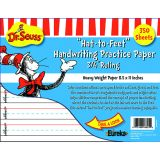 Cat in the Hat Hat to Feet Handwriting Practice Paper - 300 sheets