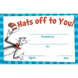 Cat in the Hat Hats Off To You Awards