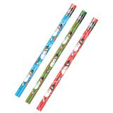 Holiday Snowmen Decorated Pencils - 1 DZ