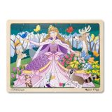 Woodland Princess 24 Piece Wooden Jigsaw Puzzle