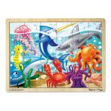 Under the Sea 24 Piece Wooden Jigsaw Puzzle
