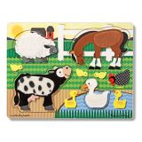 Farm Animals Touch and Learn Puzzle