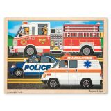 To the Rescue 24 Piece Wooden Jigsaw Puzzle