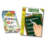 Survival Signs and Symbols Flash Cards & Survival Words Activity Book