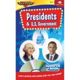 Presidents and U.S. Government CD & Book