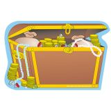 Creative Shapes Notepad Treasure Chest