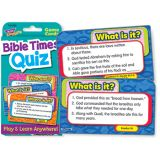 Bible Times Quiz Challenge Cards
