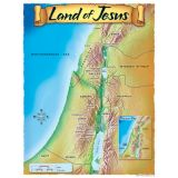 Land of Jesus Learning Chart