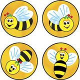 Bees Buzz Superspots Stickers