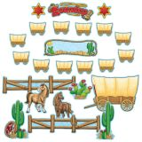 Western Round-Up Bulletin Board Set