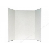 CYBER SPECIAL Tri-Fold Project Boards Carton Of 30 ~ 48 inches Wide x 36 inches High Corrugated Display Boards ~ Packed 30 / Carton ~ FREE FREIGHT on 2 cases !!!