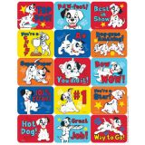 101 Dalmatians Moticational Success Stickers