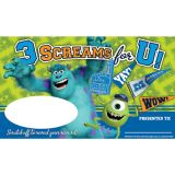 Monsters University Scratch Off Rewards