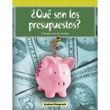 ¿Qué son los presupuestos? (What Are Budgets?) (Spanish Version)