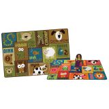 Animal Sounds Toddler Rug, 4' x 6' Rectangle, Primary Colors