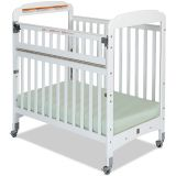 Serenity® Compact-Size Crib with EverWhite™ Finish, SafeReach® with Clearview End Panels