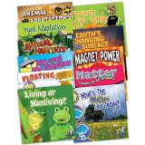 My Science Library: Grades 1-2, English, 12 Book Set