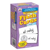 Everyday Words in Spanish: Photgraphic (104)  Flash Cards