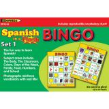 Spanish in a Flash Learning System: Set 1, Bingo Games