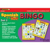 Spanish in a Flash Learning System: Set 2, Bingo Games