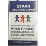 NES Word to Word Spanish-English and English-Spanish School Dictionary