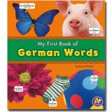 Bilingual Picture Dictionaries, My First Book of German Words
