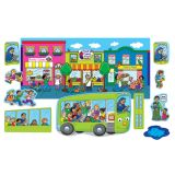 Bilingual Rhymes Flannel Board Sets, Wheels on the Bus