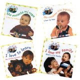 'Real Picture' Bilingual Board Books, Look At Me