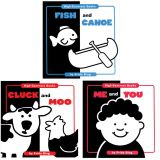High Contrast Board Books, Set of 3
