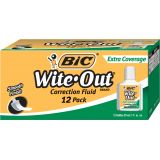 BIC® Wite-Out® Extra Coverage Correction Fluid