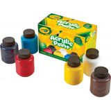 Crayola® Acrylic Paint Set, 6 colors