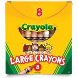 Crayola® Multicultural Crayons, Large Size