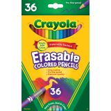 Crayola® Erasable Colored Pencils, 36 colors