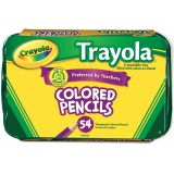 Crayola® Trayola™ Colored Pencils, 54 count