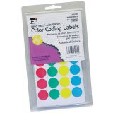 Color Coding Labels, Assorted