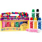 Do-A-Dot Art!® Markers, Mini Jewel Tone Washable, 6 pack