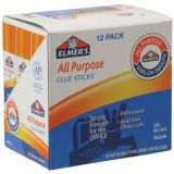 Elmer's Glue Stick, Clear, .21 oz.