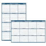 Laminated Academic Year Planner, 24 x 37