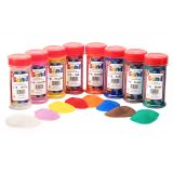 Colored Sand, 12 assorted colors, 1 lb. each