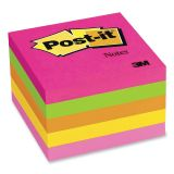 Post-it® Notes in Capetown Colors, 3 x 3, 5 pads, 100 sheets