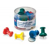 Officemate® Giant Push Pins, Tub of 12
