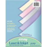Pacon® Multipurpose Paper, Pastel Colors, 100 sheets
