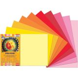 Tru-Ray® Fade-Resistant Construction Paper, 12 x 18, Warm Assorted