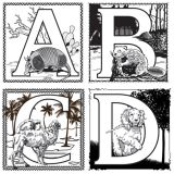 Embossed Paper Alphabet Collection