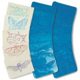 Insects Rubbing Plates, 4 1/2 x 6 1/2, 16 designs