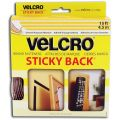Velcro® Sticky-Back® Hook & Loop Fasteners, Black